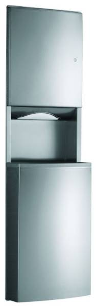 Paper Towel Dispenser and Waste Bin - Contura B-43944 and B-43949