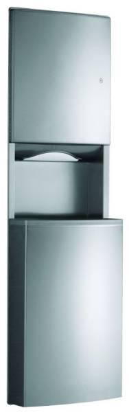 Paper Towel Dispenser and Waste Bin - Contura B-43944 and B-43949