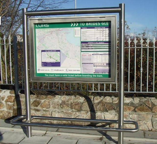 Kent Light Rail Notice Board