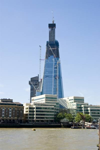 TR+ Product development tops The Shard