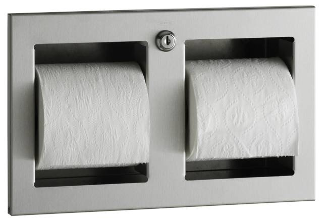 Recessed Multi-Roll Toilet Tissue Dispenser B-35883