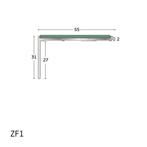 Z-Range Budget Stair Nosing / Stair Edging