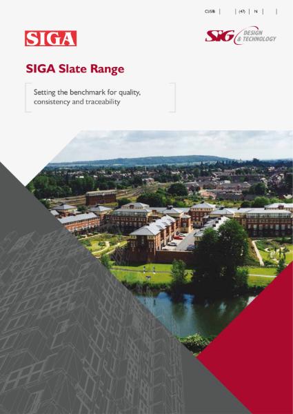 SIGA Slate Brochure
