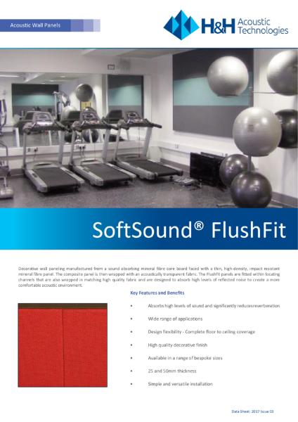 Acoustic Flushfit Panels