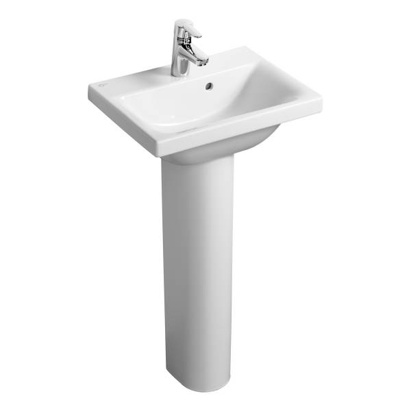 Concept Space 50 cm Washbasin - Short Projection