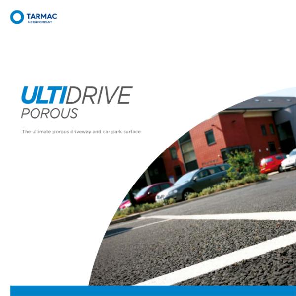 Porous asphalt driveway surface - Porous asphalt for parking areas - Ultidrive Porous