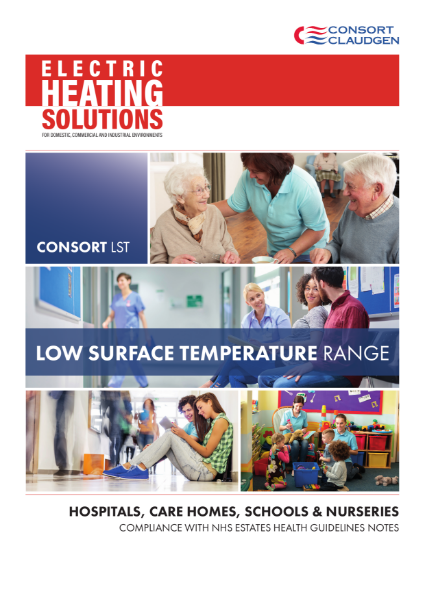 Low Surface Temperature Heaters brochure 2020