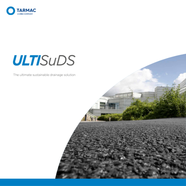 Porous asphalt - UltiSuds for car parks in retail and commercial environments