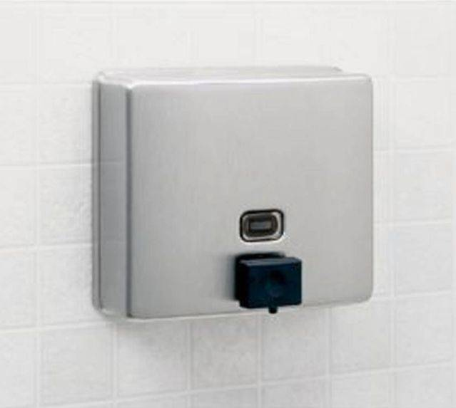 Surface Mounted Soap Dispenser for Anti-Bacterial Soaps 818615