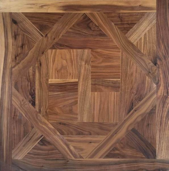 American Black Walnut Parquet Panels