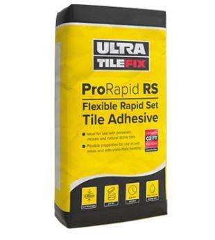 ProRapid RS: Flexible Rapid Set Tile Adhesive