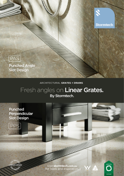 Fresh angles on linear grates - punched slot designs