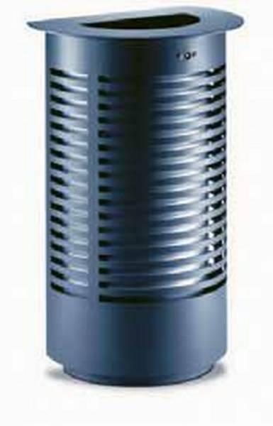 Sineu Graff Contemporary Semi Circular Litter Bin, Aperture in Top