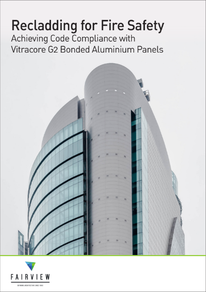 Recladding for Fire Safety - Vitracore G2 Bonded Aluminium Panels