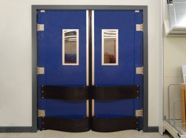 Dortek Double Action Traffic  Doors