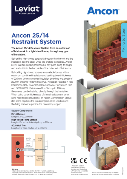Ancon 25/14 Restraint System