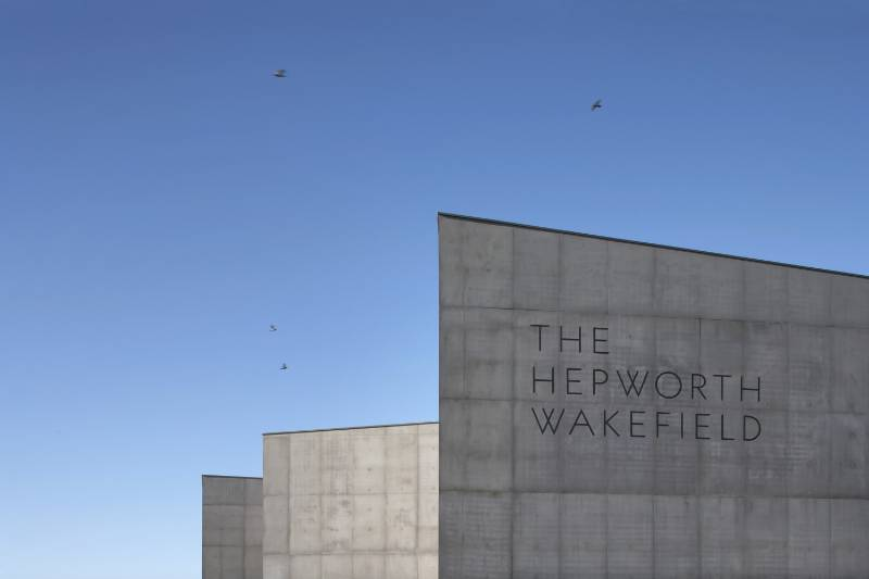 The Hepworth Gallery - Cafe and Education Areas of this Prestigious Gallery Include Stainless Steel Sinks, Worktops, Panels and Cabinet from GEC Anderson Limited