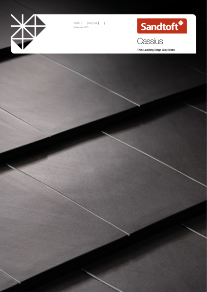 Cassius Thin Leading Edge Clay Slate