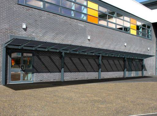 Kensington Mono Pitch Solar Canopy - 20 kWp
