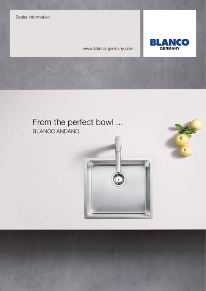 The New BLANCO Andano Sink Range
