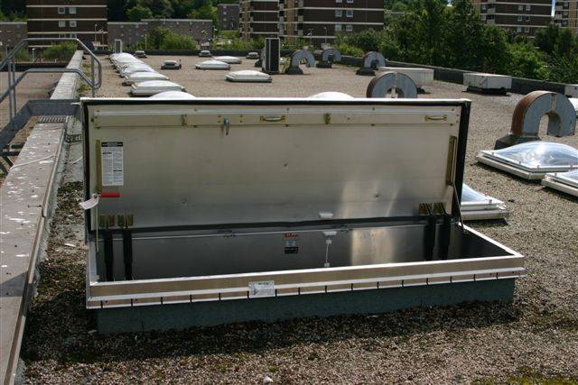 Bilco Roof Hatches - Service Stair Access L-50TB - Roof access hatch
