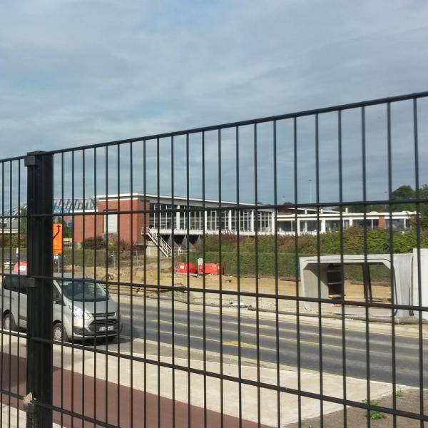 Nylofor 2D + Bekafix Ultra - Metal mesh fence panel