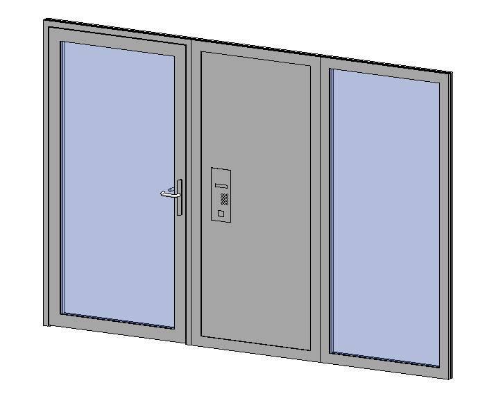 Premier Vision - Single Door + Side Panel + Side Panel