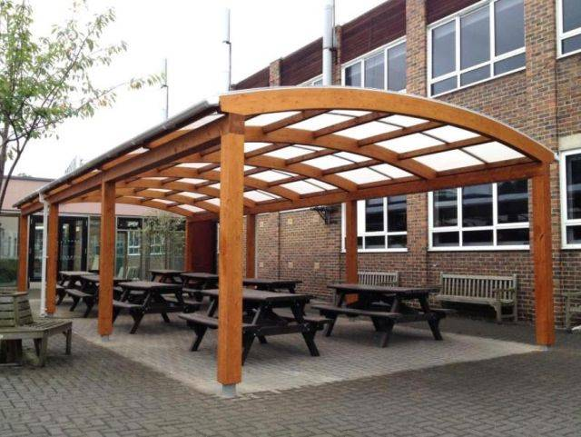 Tarnhow Dome Free Standing Timber Canopy