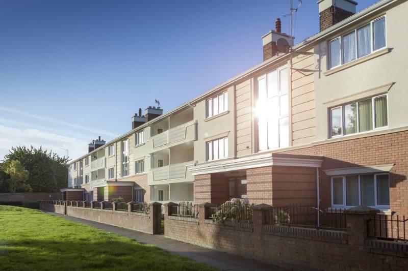 Hornby Flats social housing refurbishment