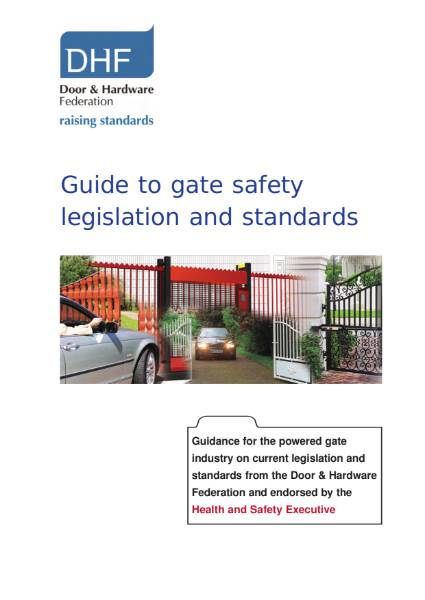 DHF Guide to Gate Safety