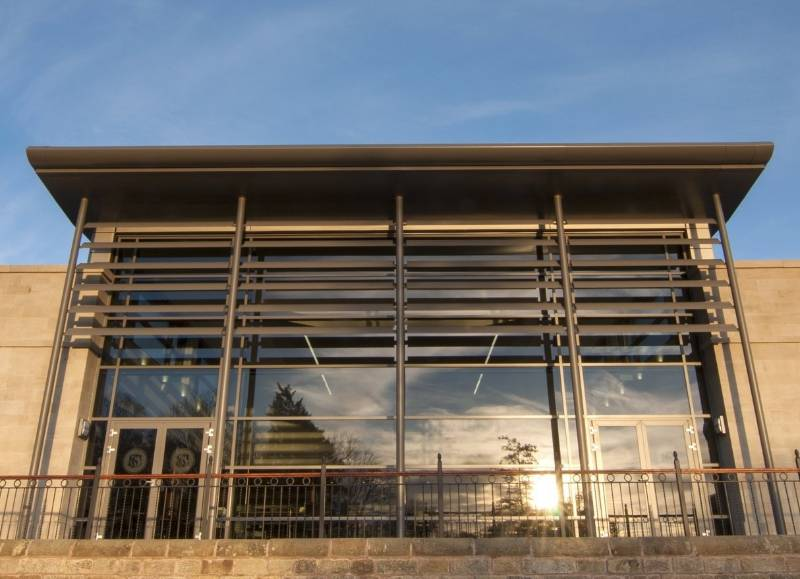 Stonyhurst College's New Refectory Keeps cool with Solar Shades from Dales