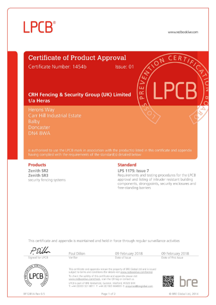 LPCB Product approval A