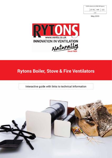 Boiler, Stove & Fire Ventilators