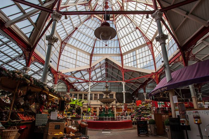 Jersey Central Market Patent Glazing