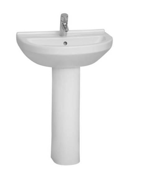 VitrA S50 Washbasin, 60 cm, Round, 5302