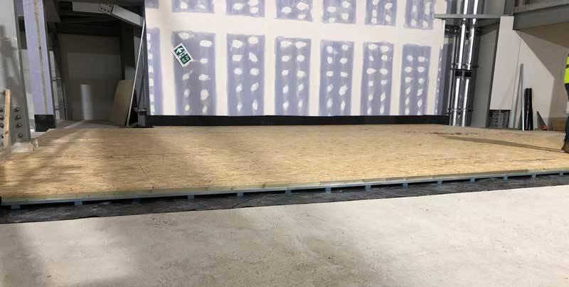 Rochdale Riverside Cinema - Acoustic Floating Floors