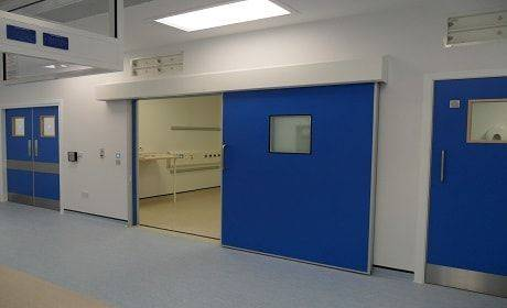 Dortek Hygienic Sliding Lead Lined Doors