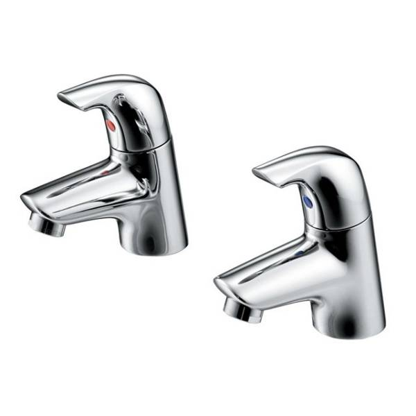 Ceraplan SL Basin Pillar Taps