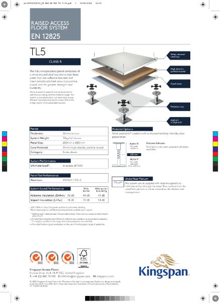 TL5 (Class 5 Access Floor)