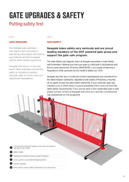 Gate Upgrades and Safety