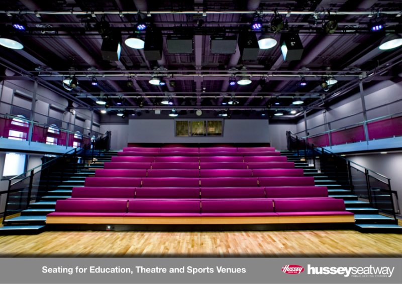 Hussey Seatway - Seating for Education, Theatre and Sports Venues
