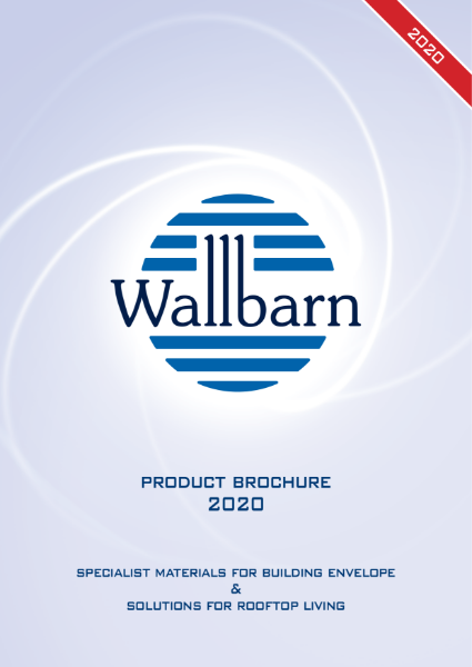 Wallbarn Catalogue for Pedestals, Decking, Green Roofs, Waterproofing, Geotextile & Drainage