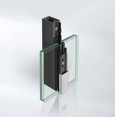 Fire-resistant steel stick curtain walling façade system - VISS Fire
