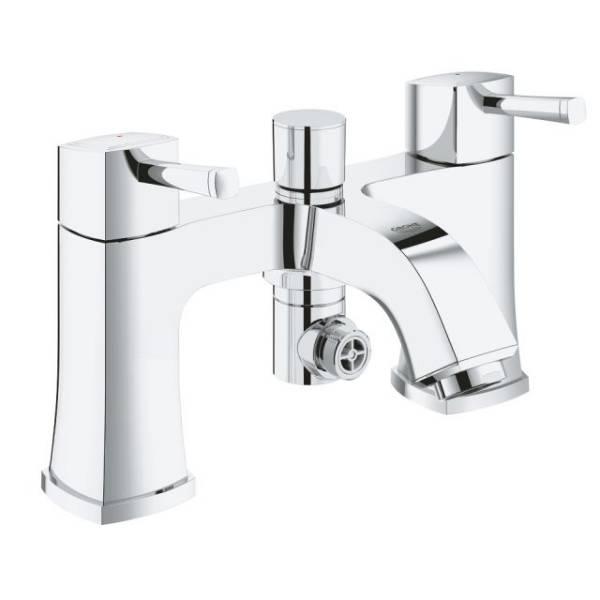 "Grandera Two Handled Bath/ Shower Mixer 1/2"""