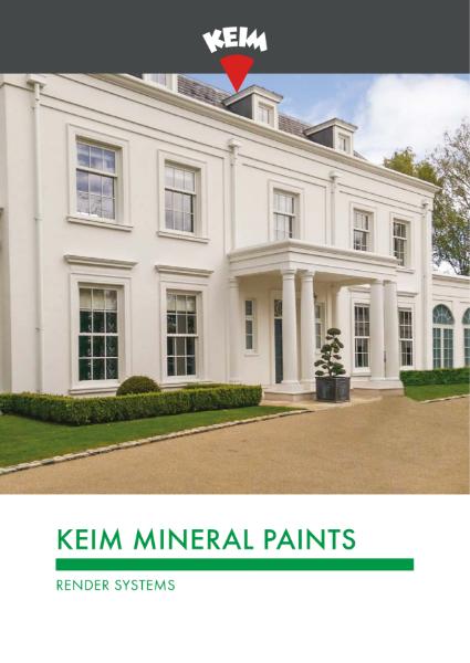 Keim Mineral Paints - Render Brochure