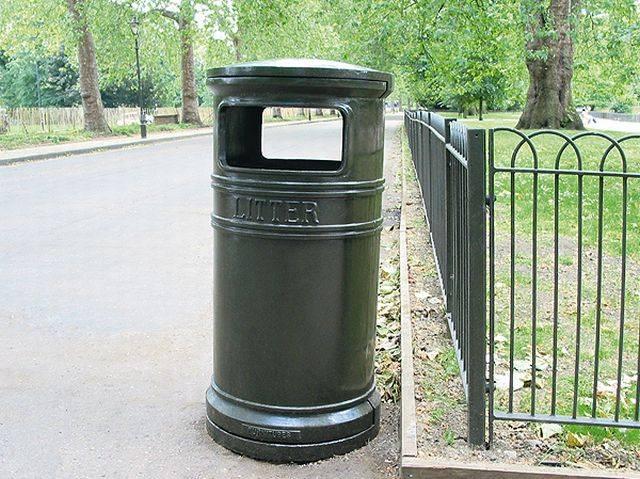 Covent Garden Circular Bin