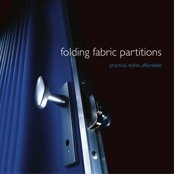 Moving Designs Fabric Partition Brochure
