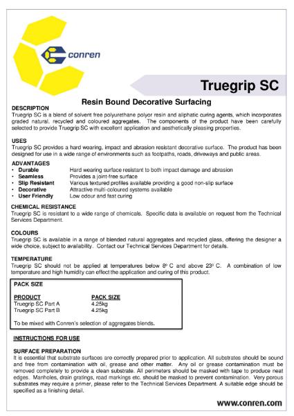 Truegrip SC