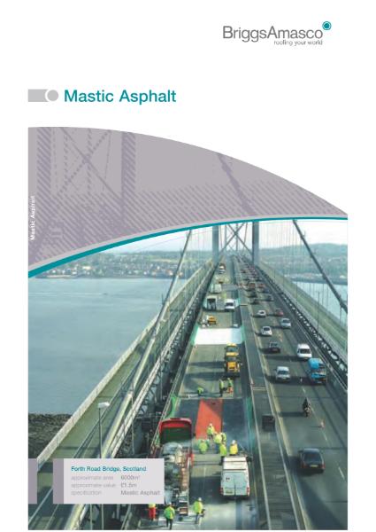 Mastic Asphalt