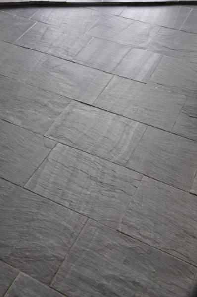 Slate Flooring Cwt-Y-Bugail Natural Slate